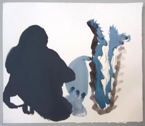 Acrilic on paper. 25x25 cm. Florence 2013.