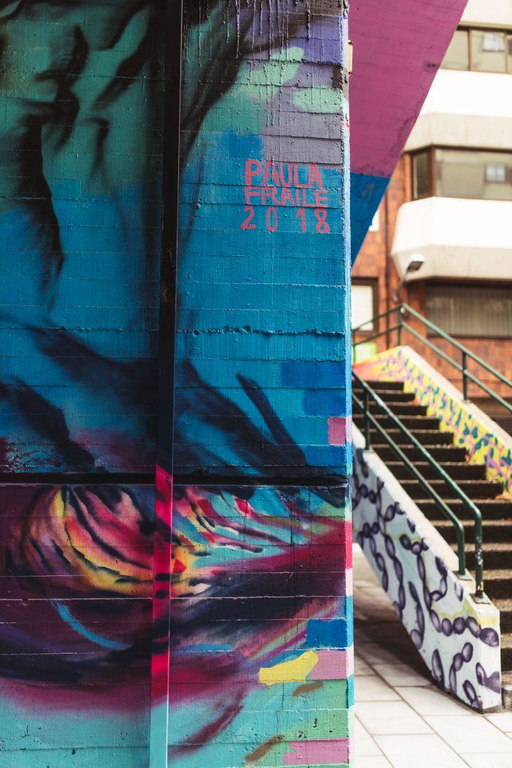 Paula Fraile-mural