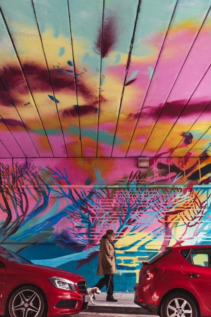 Paula Fraile mural